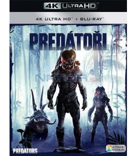 PREDÁTORI 2010 (Predators) (4K Ultra HD) - UHD+BD - 2 x Blu-ray (SK OBAL)