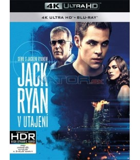 Jack Ryan: V utajení (Jack Ryan: Shadow Recruit) (4K Ultra HD) - UHD Blu-ray + Blu-ray