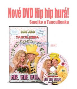Smejko a Tanculienka: Hip, hip, hurá! 2018 DVD