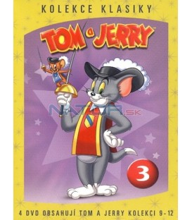 Tom a Jerry kolekce 3. 9.-12. díl - 4 DVD