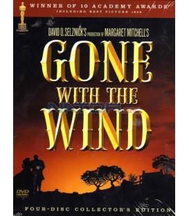 Jih proti severu 4 DVD - sběratelská edice (Gone with the Wind 4 Disc Collector´s )