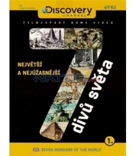 7 divů světa 1. - Největší a nejúžasnější (Seven Wonders of the World - Simply the Best) DVD