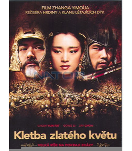 Kletba zlatého květu (Curse of the Golden Flower) DVD