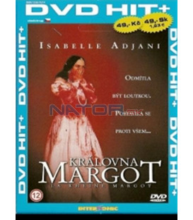 Kráľovná Margot (La Rheine Margot) DVD