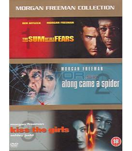 Morgan Freeman - kolekce 3 DVD