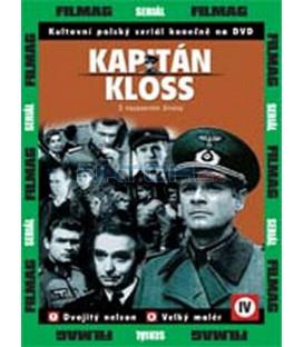 Kapitán Kloss 4 - díly 7 a 8 (Stawka wieksza niz zycie) DVD