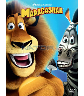 Madagaskar (big face edice II.) DVD (SK OBAL)