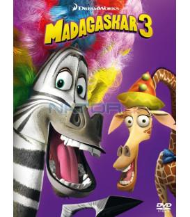Madagaskar 3  (Madagascar 3: Europes Most Wanted) (big face edice II.) DVD (SK OBAL)