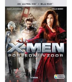 X-Men: Poslední vzdor 2006 (X-Men: The Last Stand) 4K Ultra HD) - UHD Blu-ray + Blu-ray