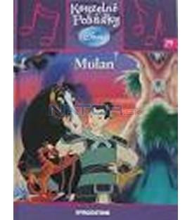 Mulan- kniha + CD- Kouzelné pohádky Disney 29