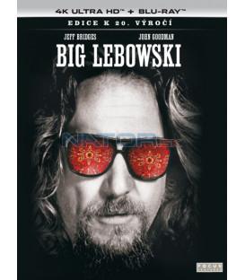 Big Lebowski 1998 (Big Lebowski) 4K Ultra HD) - UHD Blu-ray + Blu-ray (SK OBAL)