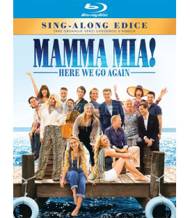 Mamma Mia 2: Here We Go Again! 2018 Blu-ray