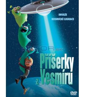 Příšerky z vesmíru / Luis a ufóni 2018 (Luis und die Aliens) DVD