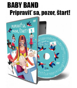 FÍHA tralala  Baby Band: Pripraviť Sa, Pozor, Štart! 2018 DVD