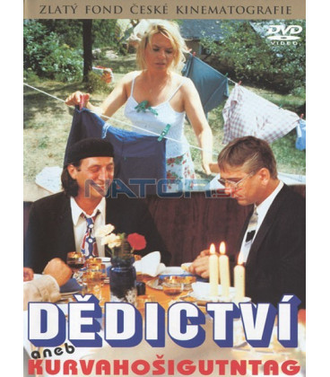Dědictví aneb Kurvahošigutntag DVD