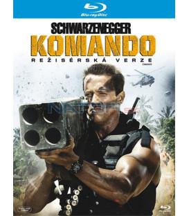 Komando (Commando) Blu-ray  SCHWARZNEGGER (režisérská verze)