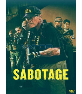 Sabotáž (Sabotage) DVD Arnold Schwarzenegger