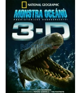 Monstra oceánů 3D+2D National Geographic - 2 DVD