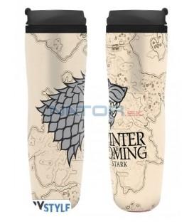 Hrnek Game of Thrones - Winter is coming cestovní 355 ml