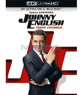 JOHNNY ENGLISH ZNOVU ZASAHUJE 2018 (Johnny English Strikes Again) (4K Ultra HD) - UHD Blu-ray + Blu-ray