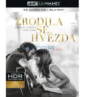 ZRODILA SE HVĚZDA 2018 (A Star Is Born) (4K Ultra HD) - UHD Blu-ray + Blu-ray