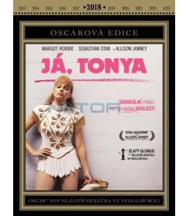 Já, Tonya 2017 DVD (Oscarová edice)