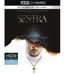 Mníška / Sestra 2018 (The Nun) (4K Ultra HD) - UHD Blu-ray + Blu-ray