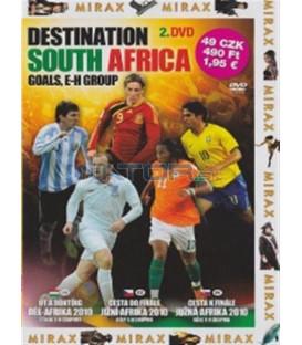 Cesta k finále: Jižní Afrika 2010 - 2. DVD (Destination South Africa: Stars, E-H Group)