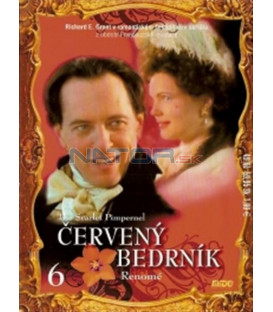 Červený bedrník - 6. dí (The Scarlet Pimpernel) DVD