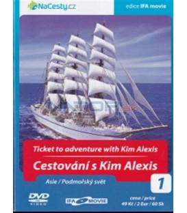 Cestování s Kim Alexis 1 - Asie / Podmořský svět (Ticket to Adventute with Kim Alexis) DVD