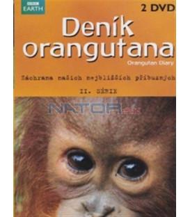 Deník orangutana II. série (Orangutan Diary) DVD