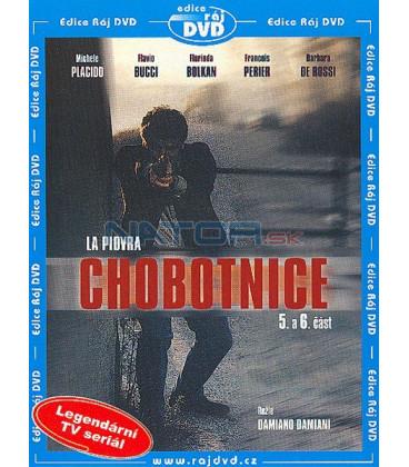 Chobotnice 1- 5. a 6. část (La Piovra) DVD