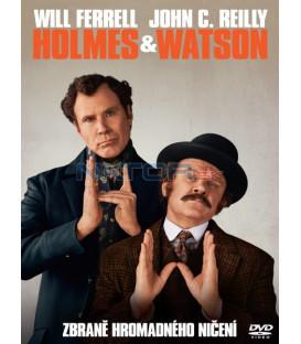Holmes a Watson 2018 DVD