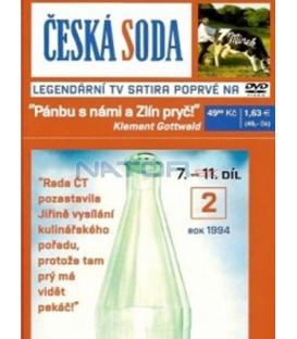 Česká soda 2 DVD, 7. - 11. díl, rok 1994 DVD