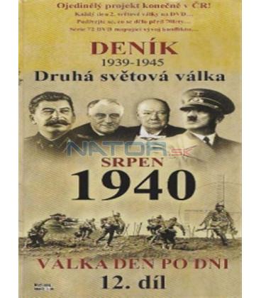 Deník - Druhá světová válka (12. díl) - srpen 1940 (Second World War Diary (1939-1945) DVD