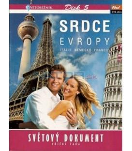 Světoběžník - disk 5 - Srdce Evropy DVD