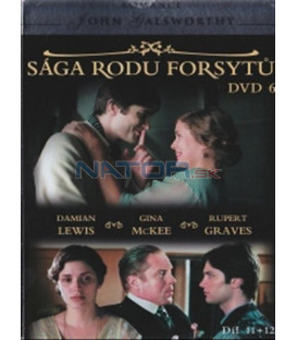 Sága rodu Forsytů - DVD 6 (The Forsyte Saga) DVD