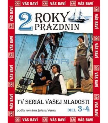 2 roky prázdnin, 3. a 4. diel (Deux ans de vacances) DVD
