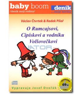 AUDIO CD: O Rumcajsovi, Cipískovi a vodníku Volšovečkovi CD