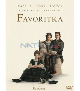 FAVORITKA 2018 (The Favourite) DVD