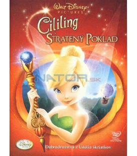 Cililing a stratený poklad (Tinker Bell And The Lost Treasure) DVD