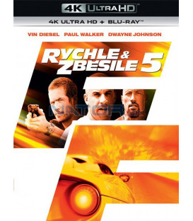 Rychle a zběsile 5 - 2011 (Fast Five) (4K Ultra HD) - UHD Blu-ray + Blu-ray