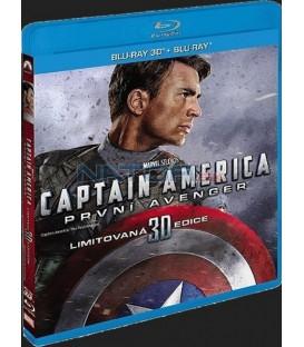Captain America: První Avenger BD (3D+2D)