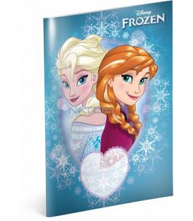 Školský zošit Frozen – Ľadové kráľovstvo Sisters, A5, 40 listov, štvorčekovaný