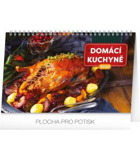 Stolní kalendář Domácí kuchyně CZ 2020, 23,1 x 14,5 cm