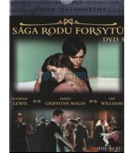 Sága rodu Forsytů - DVD 5 (The Forsyte Saga) DVD