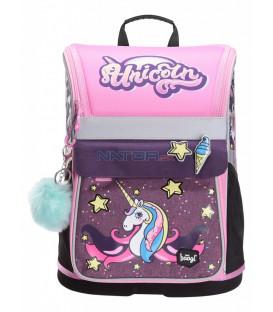 BAAGL Školská aktovka Zippy Unicorn