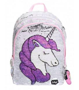 BAAGL Školský batoh Fun Unicorn