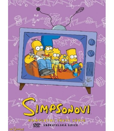 Simpsonovi 3.sezona, 4 DVD, 24 dílů