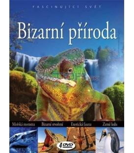 BIZARNÍ PŘÍRODA /4 DVD/